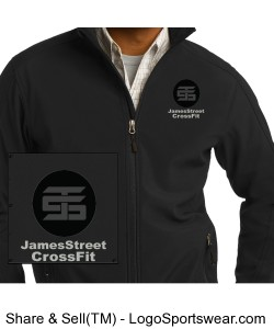 Mens Tall Core Soft Shell Jacket Design Zoom